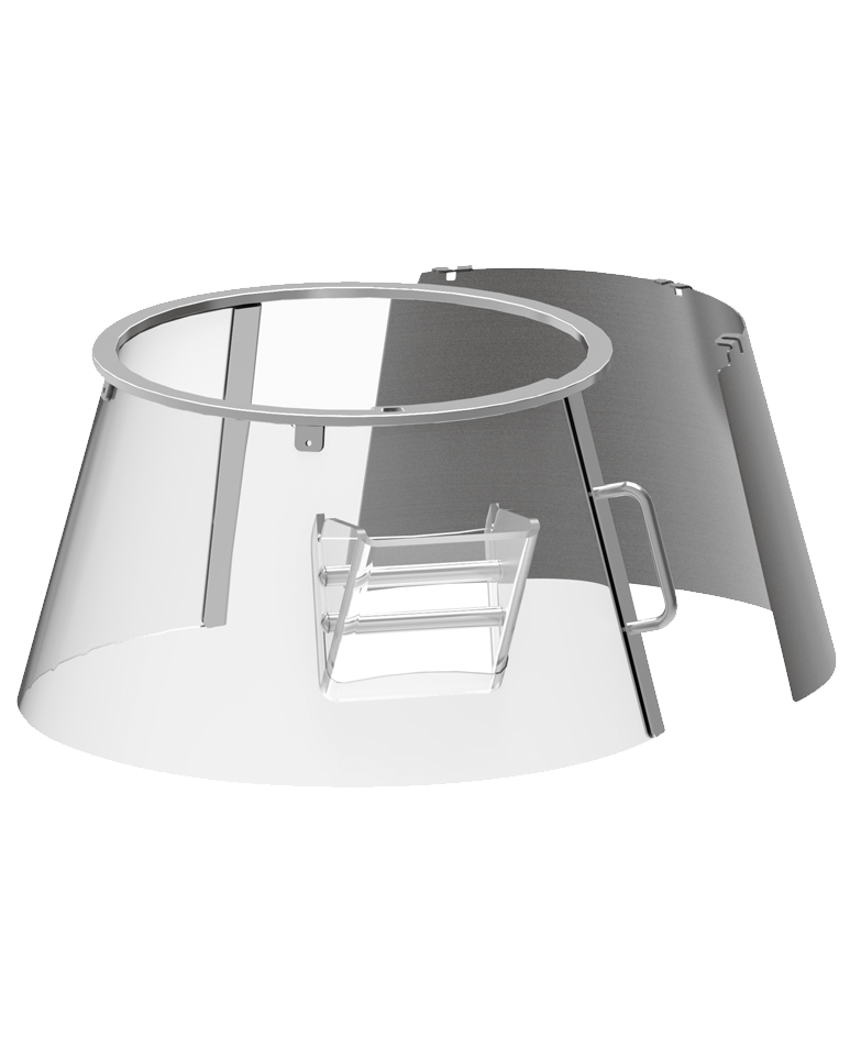 """Dispositif de protection en plastique rotatif fixe """"F"""""""