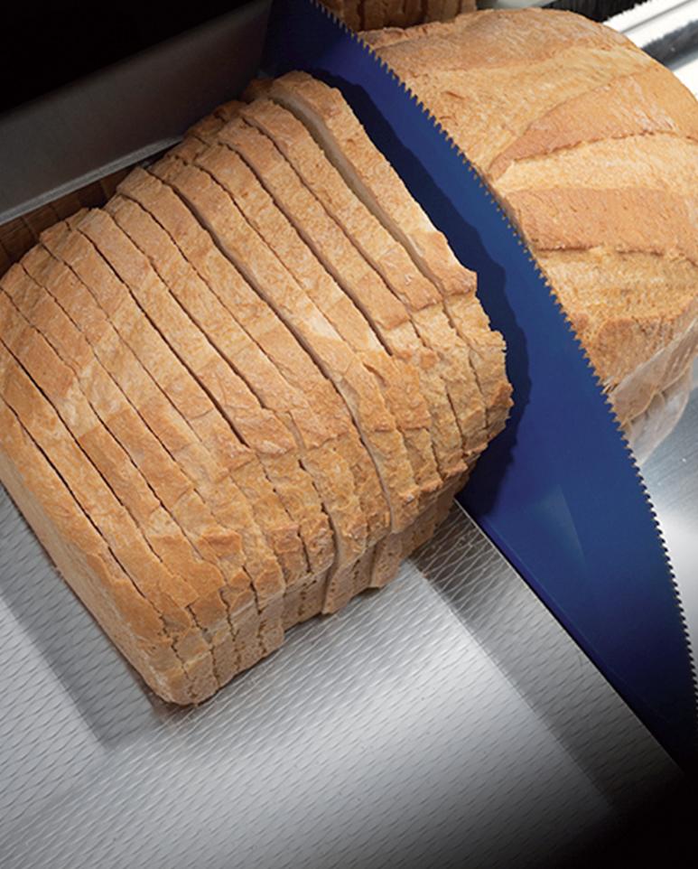 Lame circulaire téflonnée pour trancher une grande variété de pains