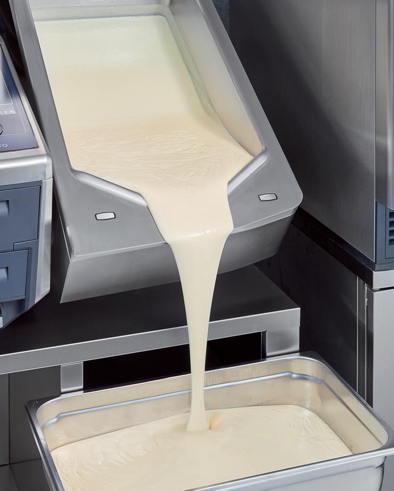 Réalisation de crème à la vanille