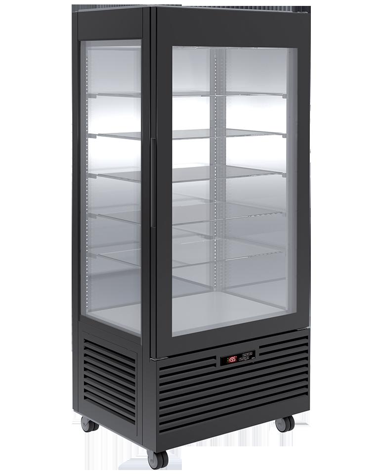 Vitrine bi-température Pâtisserie L80 Noire
