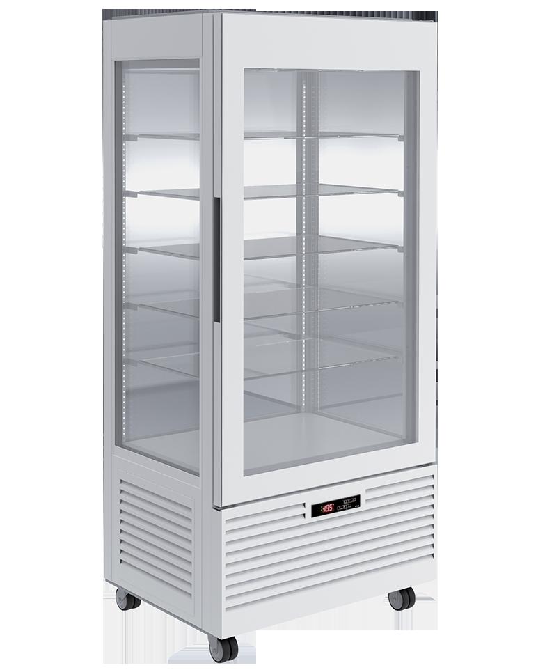 Vitrine bi-température Pâtisserie L80 Blanche