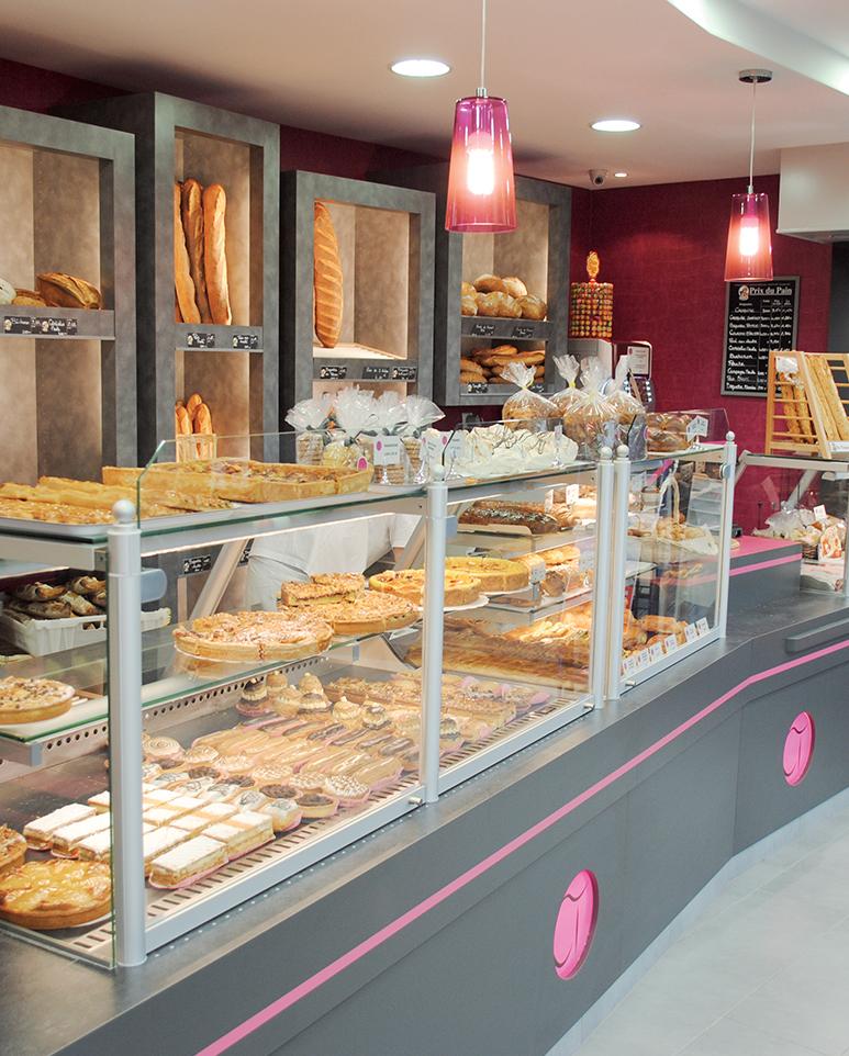 Agencement boulangerie